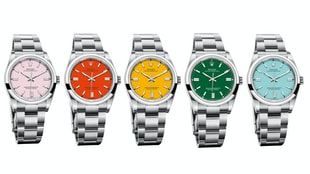 The Rolex Oyster Perpetual 36 With New Colorful Dials
