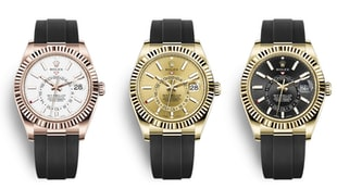 The New Rolex Sky-Dweller On The Oysterflex Bracelet