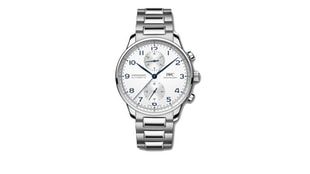 The IWC Portugieser Chronograph With Stainless Steel Bracelet