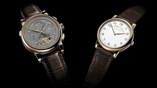 The A. Lange & Söhne Tourbograph Perpetual And 1815 Thin Honeygold Limited Editions