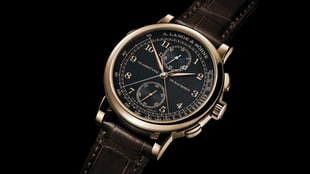 The A. Lange & Söhne 1815 Rattrapante Honeygold