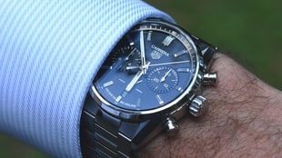 The New TAG Heuer Carrera Chronograph