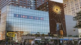 New York City's Metronome Public Clock Now Counts Down Until Climate Change Deadline
