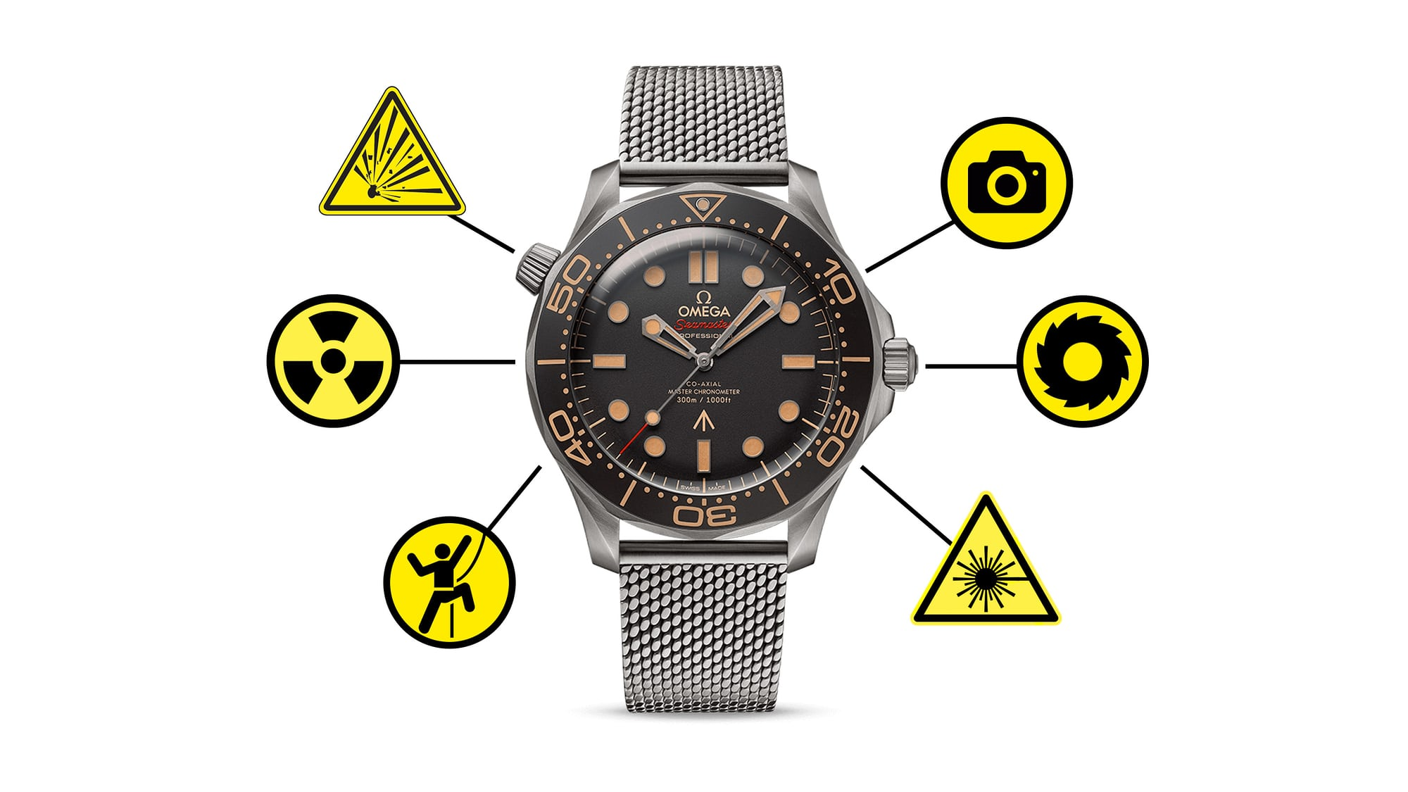 Editors' Picks: Our Favorite James Bond Gadget Watches