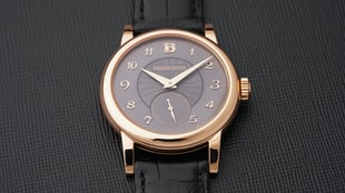 A New Limited Edition Philippe Dufour Simplicity At Phillips Geneva
