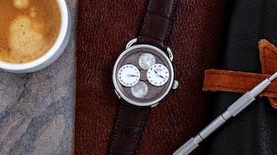 The Hermès Arceau L'Heure De La Lune, With 'New York Meteorite' Dial