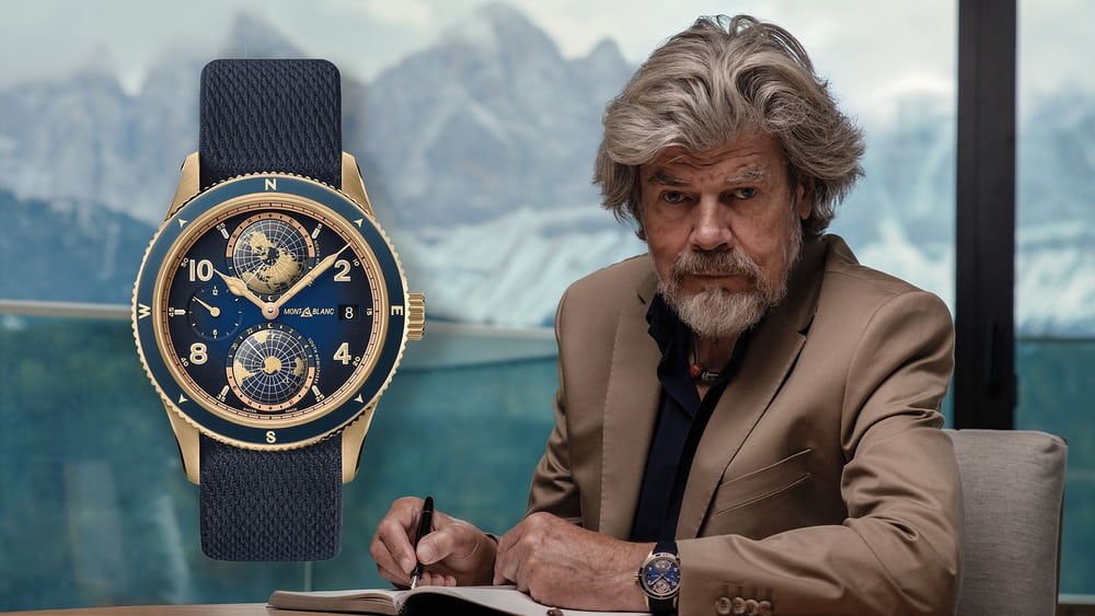 Introducing: The Montblanc 1858 Geosphere Messner Limited Edition - HODINKEE