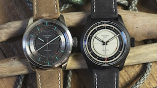 The Worn & Wound X Christopher Ward Limited Edition C65 Sandstorm And Sandstorm Blackout