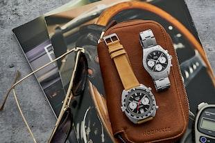 A 1966 Rolex Cosmograph 'Big' Daytona, A 1970s Heuer Autavia, And A 1968 Rolex Day-Date 'Red Quarter Dial'