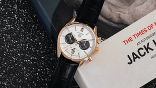 The TAG Heuer Carrera Chronograph Jack Heuer Birthday Gold Limited Edition (Live Pics & Pricing)
