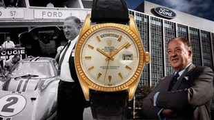 Henry Ford II's Solid Gold 18K Rolex Day-Date Is Up For Grabs At Christie's