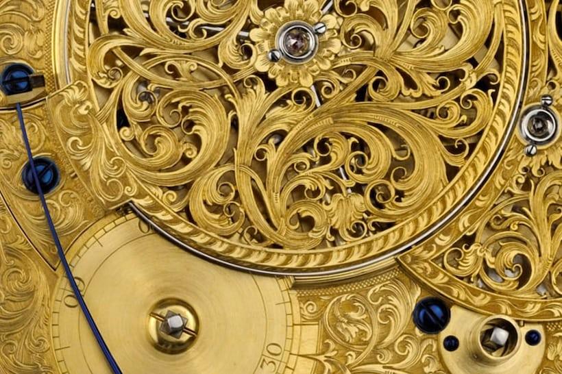 Replica of Harrison's fourth marine timekeeper (H4), made by Derek Pratt and Charles Frodsham & Co. London. Courtesy of Charles Frodsham & Co., London Replica of Harrison's fourth marine timekeeper (H4), made by Derek Pratt and Charles Frodsham