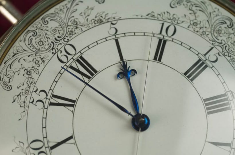 Replica of Harrison's fourth marine timekeeper (H4), made by Charles Frodsham & Co. London. Courtesy of Charles Frodsham & Co., London