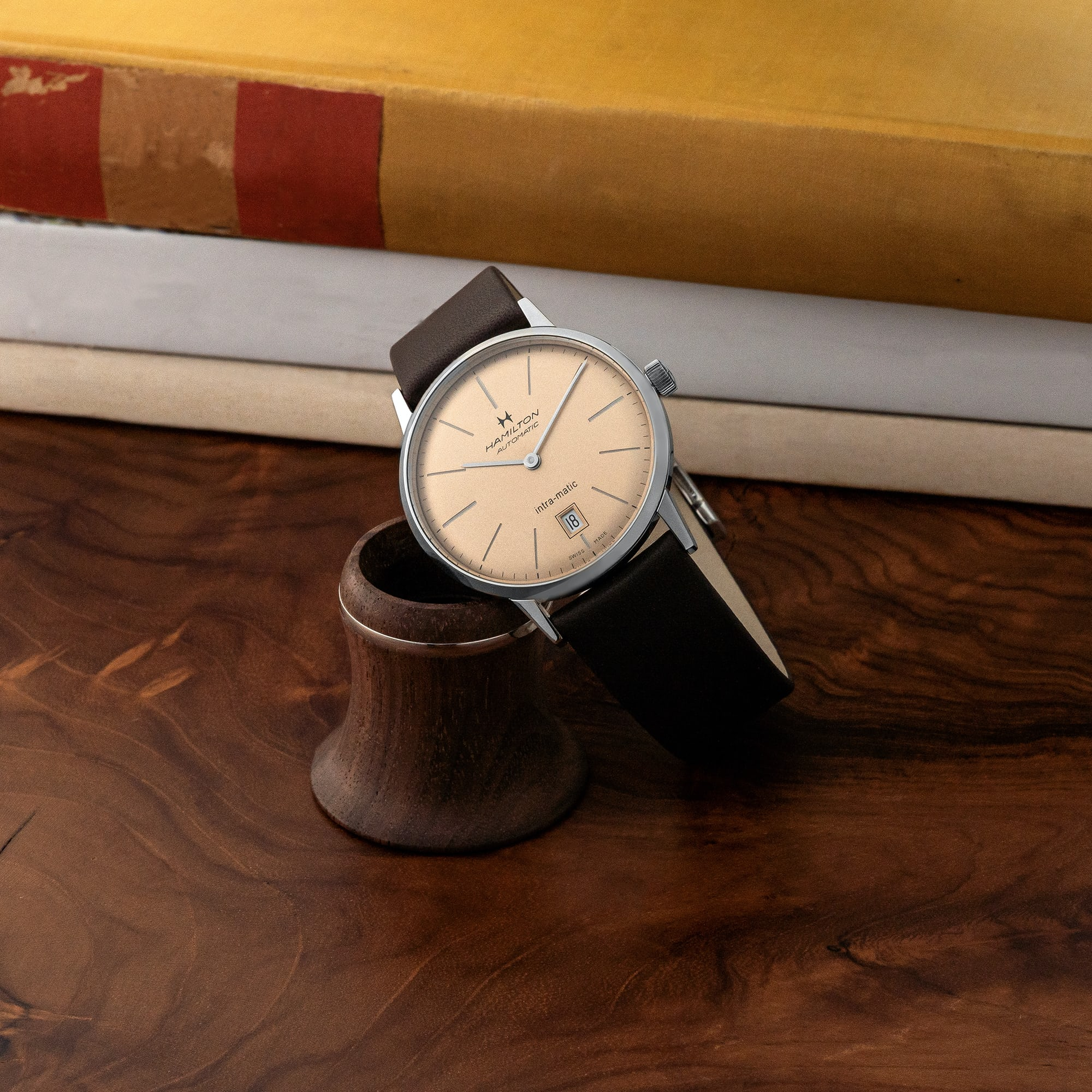 """<p><a href=""""https://shop.hodinkee.com/collections/hamilton/products/hamilton-intra-matic-38mm-champagne-dial?variant=32800428163147"""" rel=""""noopener"""" target=""""_blank""""><u>Hamilton Intra-Matic Automatic 38mm 'Champagne'</u></a></p>"""
