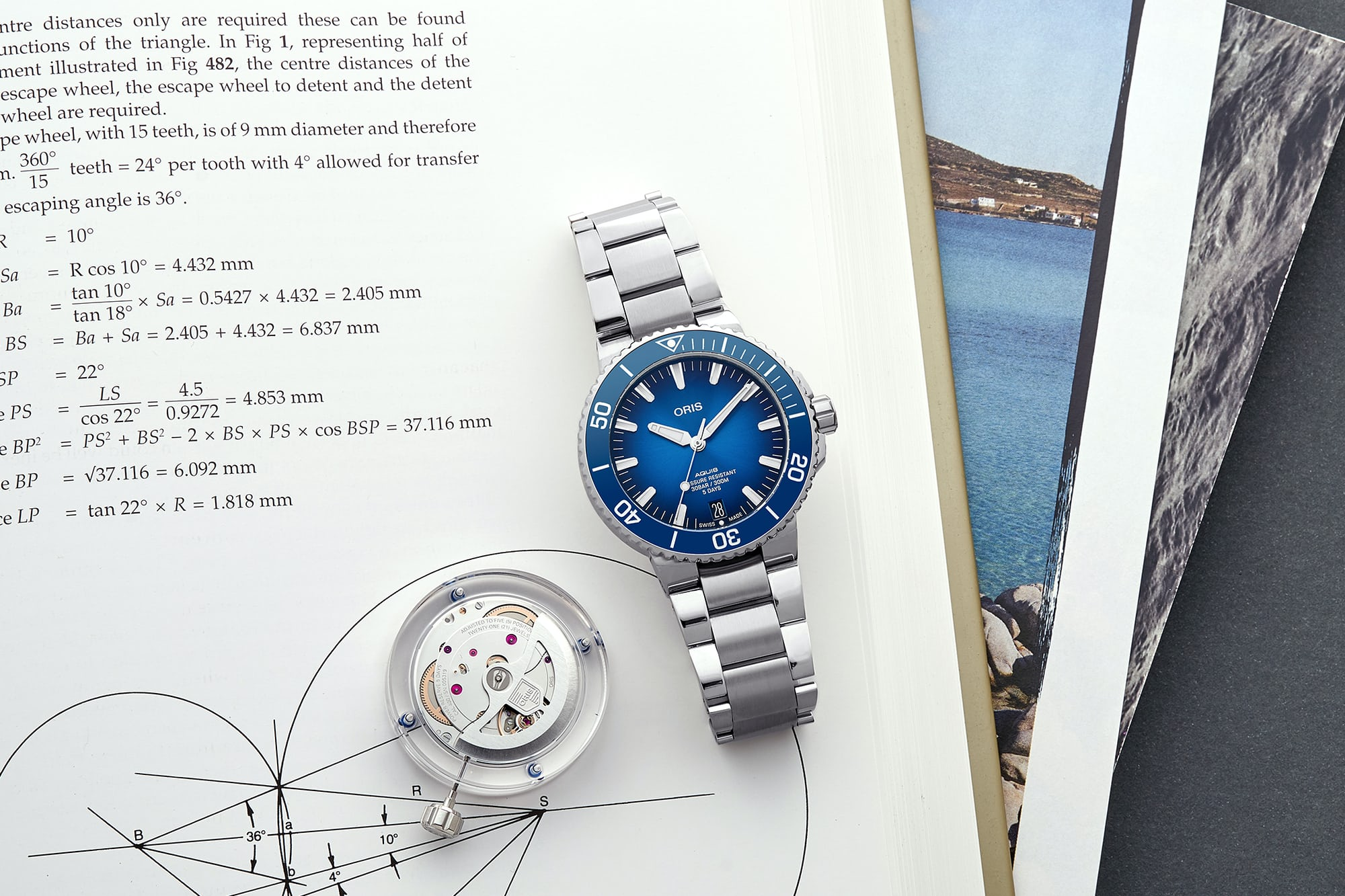"<p><a href=""https://shop.hodinkee.com/collections/oris/products/oris-aquis-date-caliber-400-bracelet?variant=32905336488011"" rel=""noopener"" target=""_blank""><u>Oris Aquis Date Caliber 400</u></a></p>"