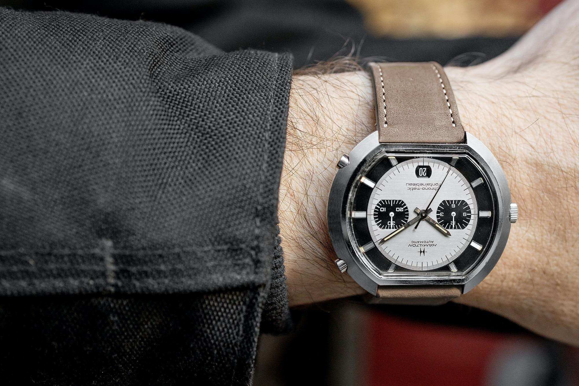 "<p><a href=""https://shop.hodinkee.com/products/1970s-hamilton-fontainebleau-ref-11001-4"" rel=""noopener"" target=""_blank""><u>1970s Hamilton Chrono-Matic Fontainebleau Ref. 11001-3</u></a></p>"