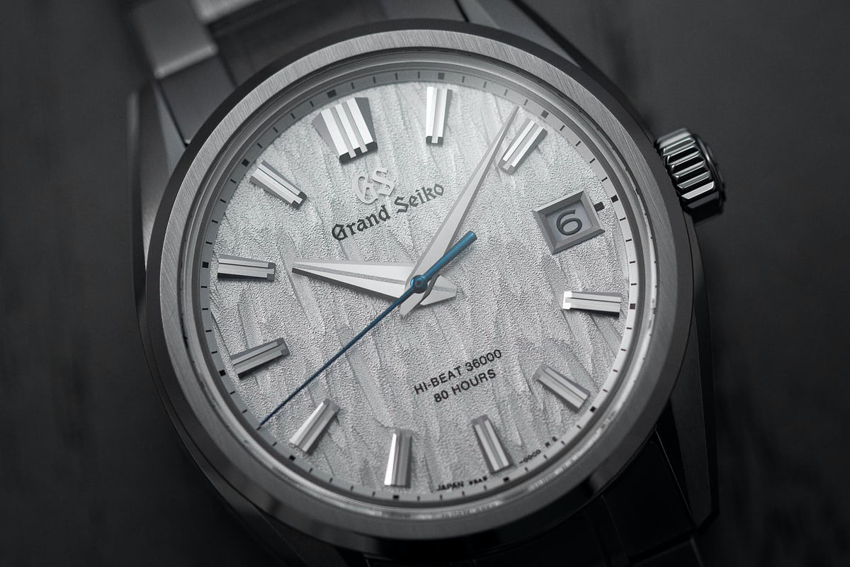 Introducing: The Grand Seiko SLGH005 'White Birch' With ...
