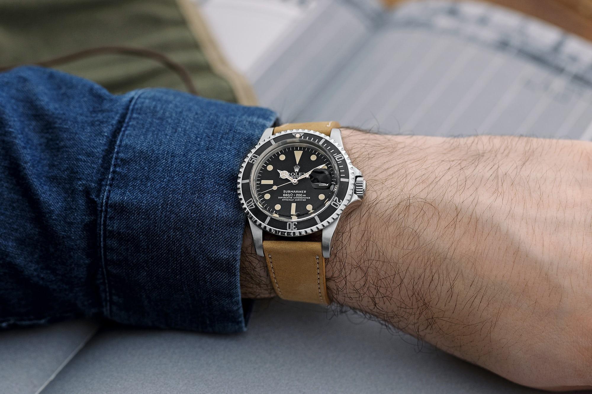 """<p><a href=""""https://shop.hodinkee.com/products/2516-rolex-submariner-1680-white"""" rel=""""noopener"""" target=""""_blank""""><u>1978 Rolex Submariner Ref. 1680</u></a></p>"""