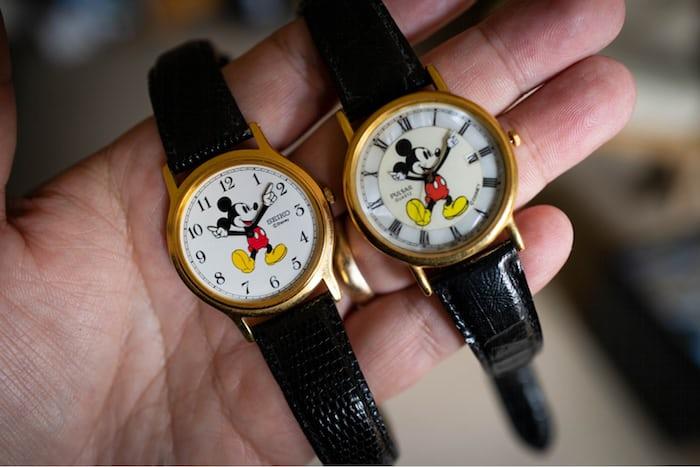 Seiko Mickey Mouse Watches