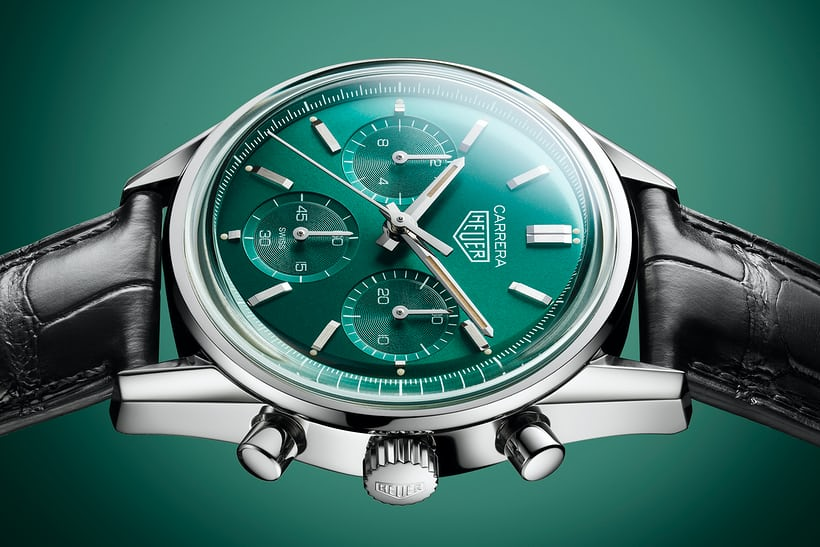 Introducing: The TAG Heuer Carrera Green Special Edition HODINKEE