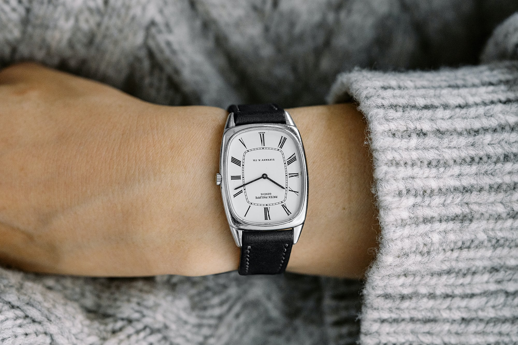 """<p><a href=""""https://shop.hodinkee.com/products/19xx-patek-philippe-tiffany-white-gold-ref-3667-3567-with-buckle"""" rel=""""noopener"""" target=""""_blank""""><u>1981 Patek Philippe Ref. 3667 In 18K White Gold Retailed By Tiffany &amp; Co.</u></a></p>"""
