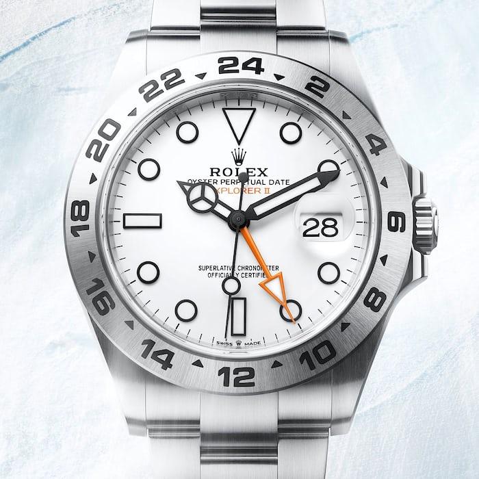 White Rolex Explorer