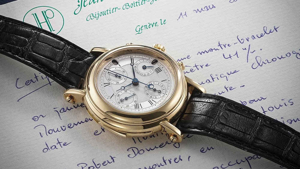 Auctions: A Mysterious Unsigned Chronograph Minute Repeater is Coming Up at Phillips - HODINKEE