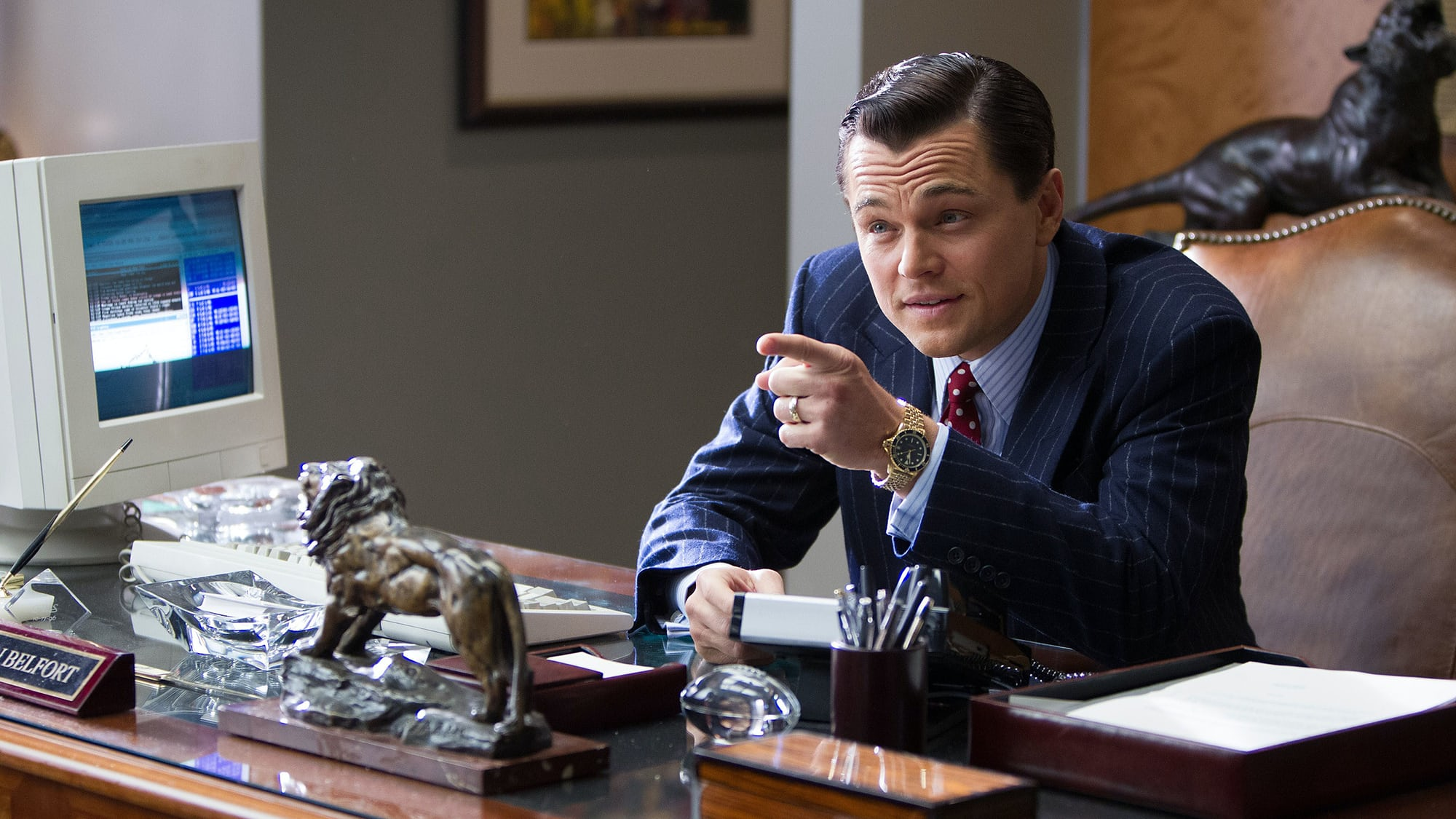 Watching Movies: Leonardo DiCaprio Wears Two TAG Heuers For 'The Wolf Of Wall Street'