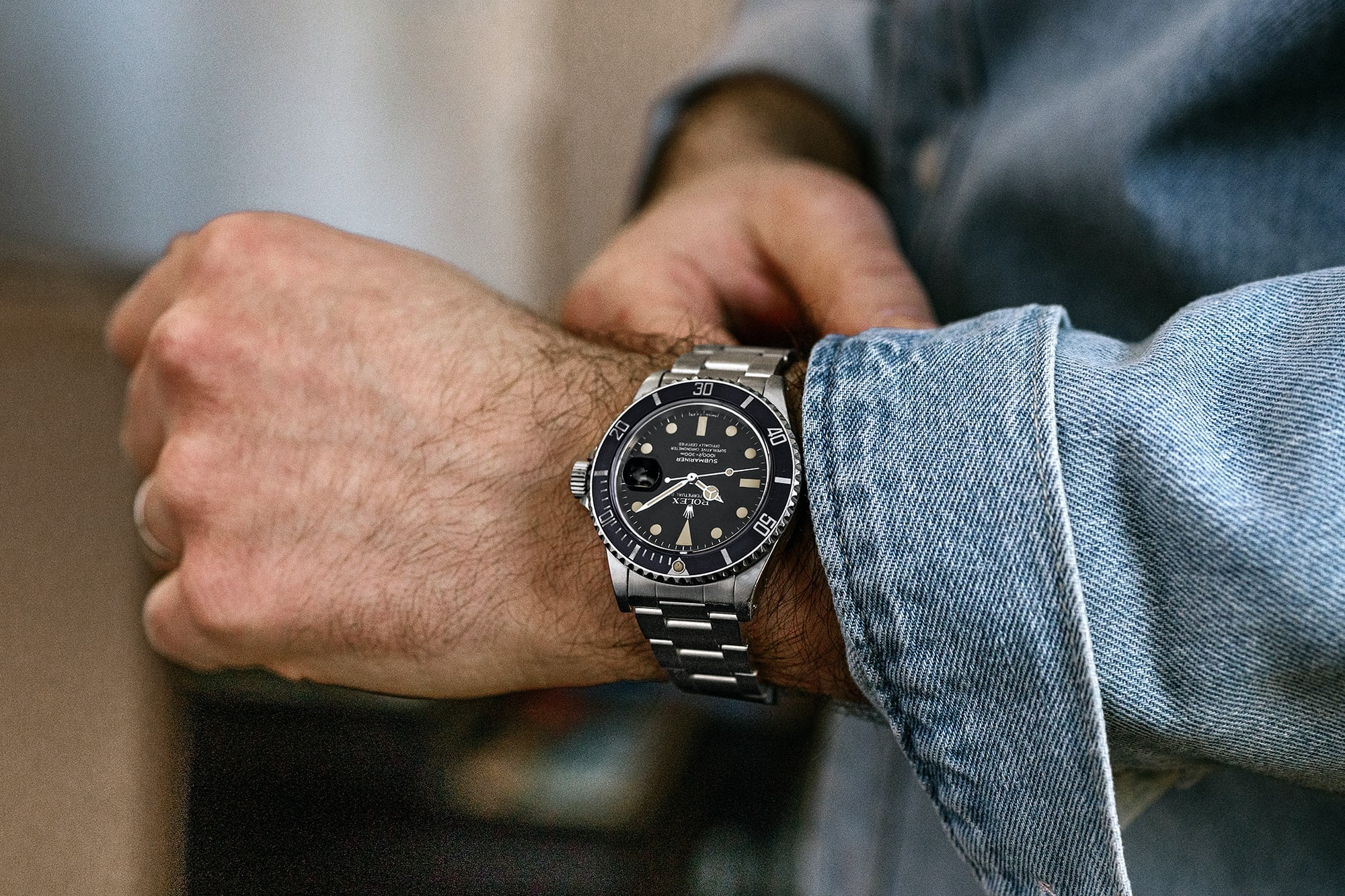 "<p><a href=""https://shop.hodinkee.com/products/submariner-16800-7477125"" rel=""noopener"" target=""_blank""><u>1983 Rolex Submariner Ref. 16800 With Matte Dial</u></a></p>"