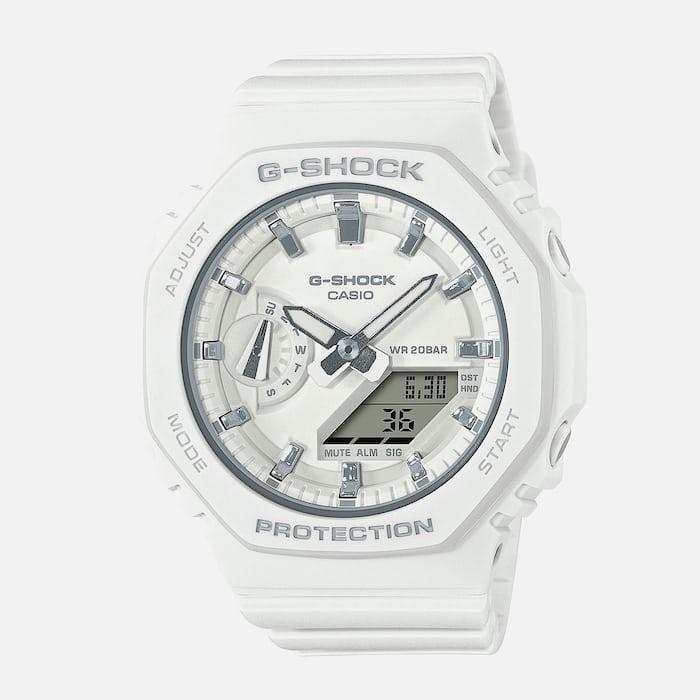 White G-Shock watch