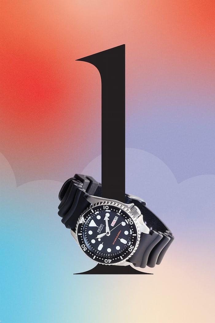 Seiko SXK 007 watch