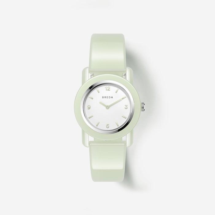 A white BREDA watch