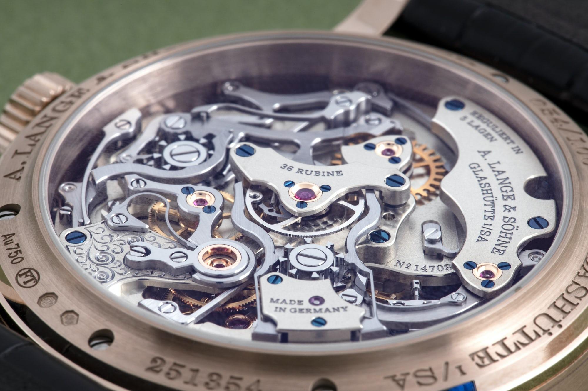 It's Complicated: Inside An A. Lange & Söhne Split-Seconds Chronograph