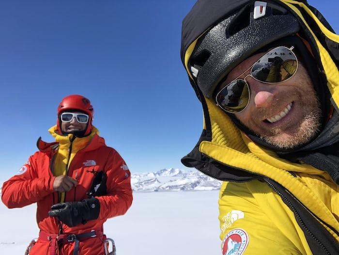 Jimmy Chin and Conrad Anker Ulvetanna Peak, Queen Maud Land, Antarctica
