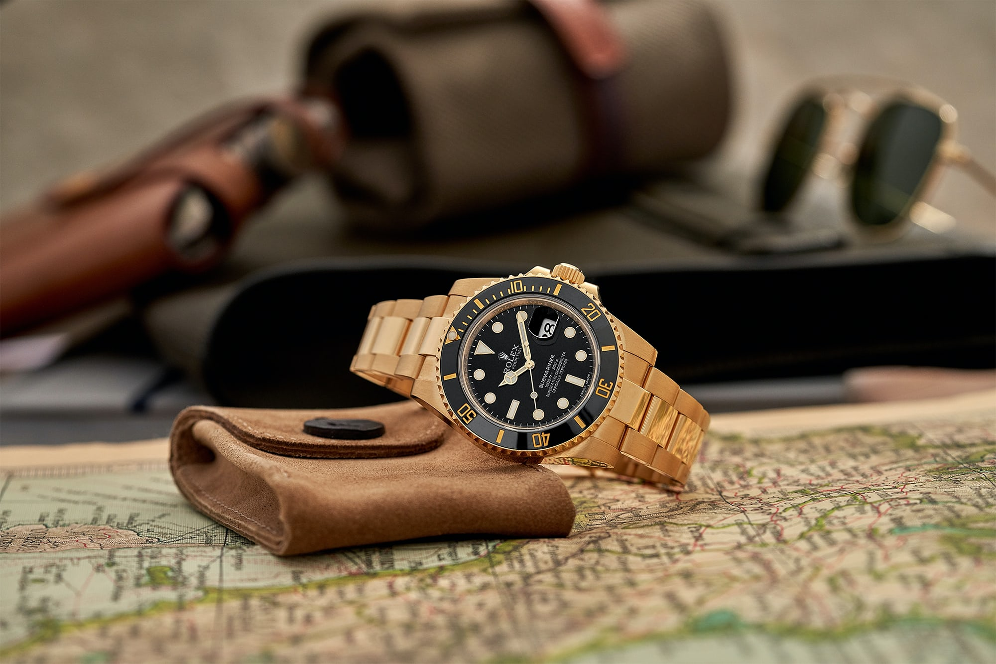 In The Shop - Pre-Owned Picks: A Habring² Chrono-Felix 'Panda,' A Tudor Black Bay Chrono Dark Limited Edition, And A Rolex Submariner Date In 18k Yellow Gold
