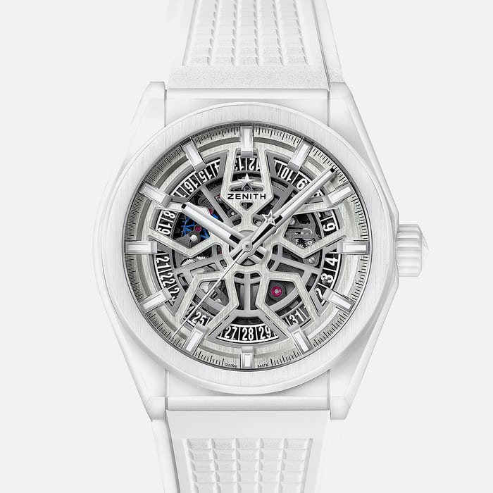 White Zenith watch