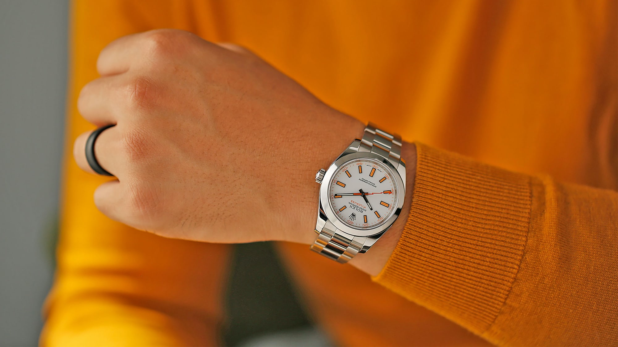 Point/Counterpoint: The White Rolex Milgauss Is The Best Rolex Milgauss