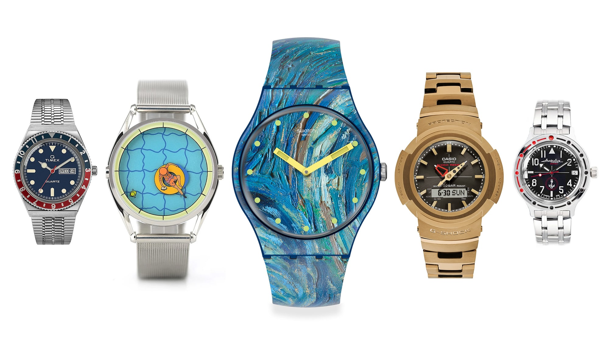 Five Fun Watches For Serious Collectors