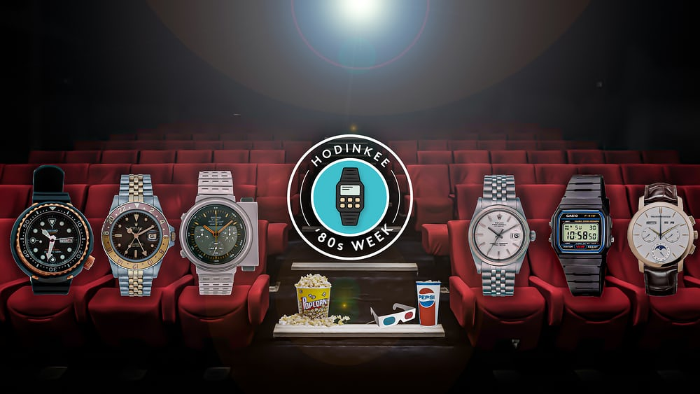 Editors' Picks: Our Favorite 1980s Movie Watches - HODINKEE