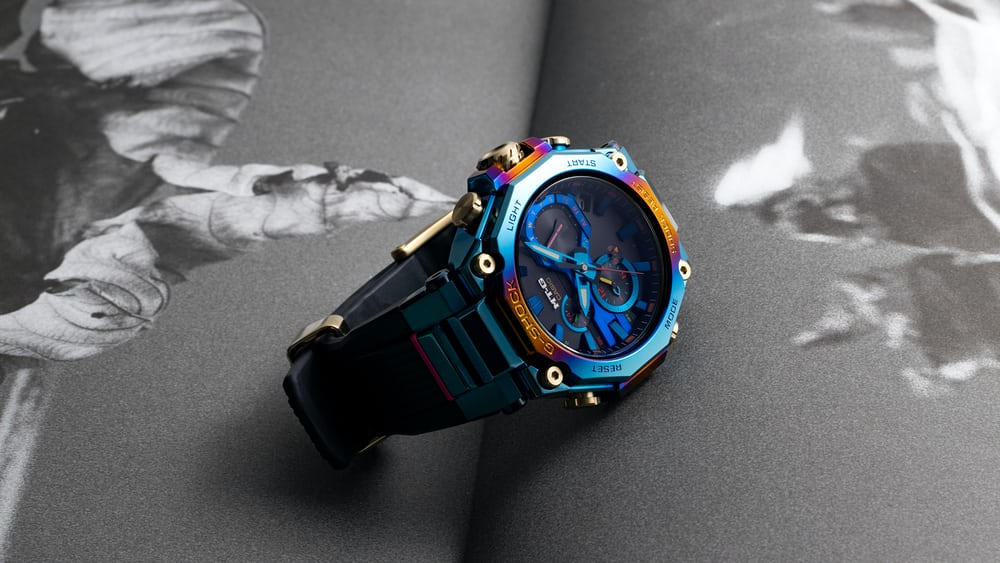 Bolt From The Blue: The G-Shock 'Blue Phoenix' - HODINKEE