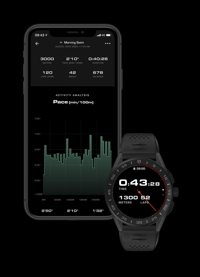 The app for the TAG Heuer connect watch