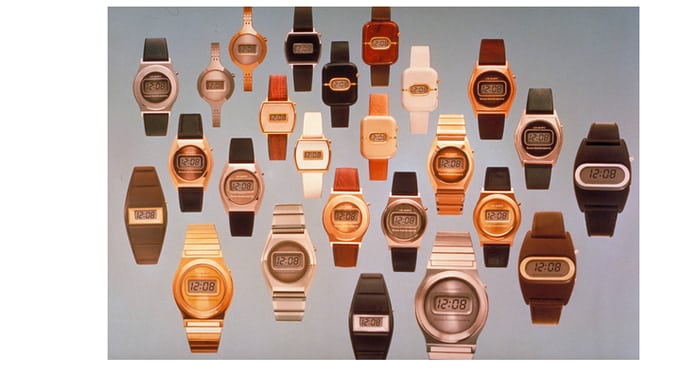 Texas Instruments watches