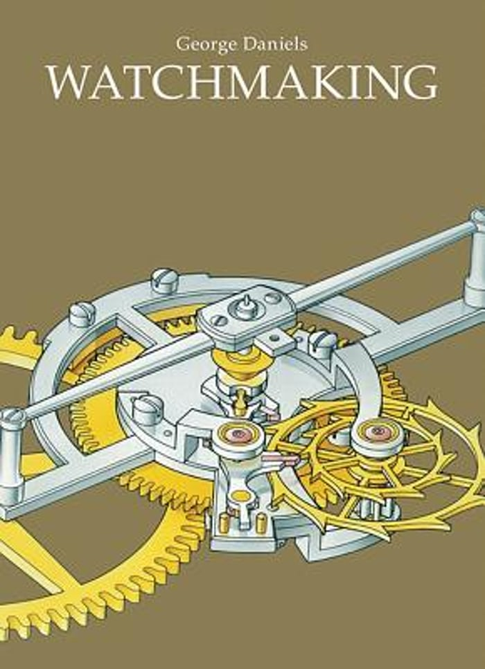 Watchmaking book cover
