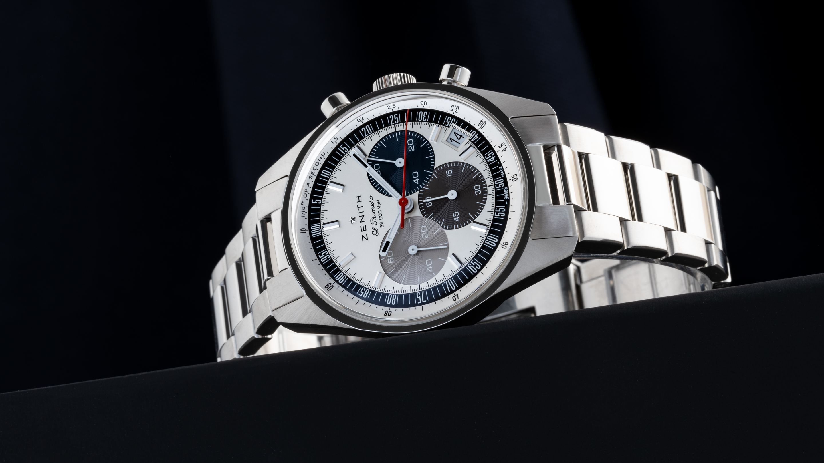 Zenith wristwatch stainless steel winding crowns may styles and types available!