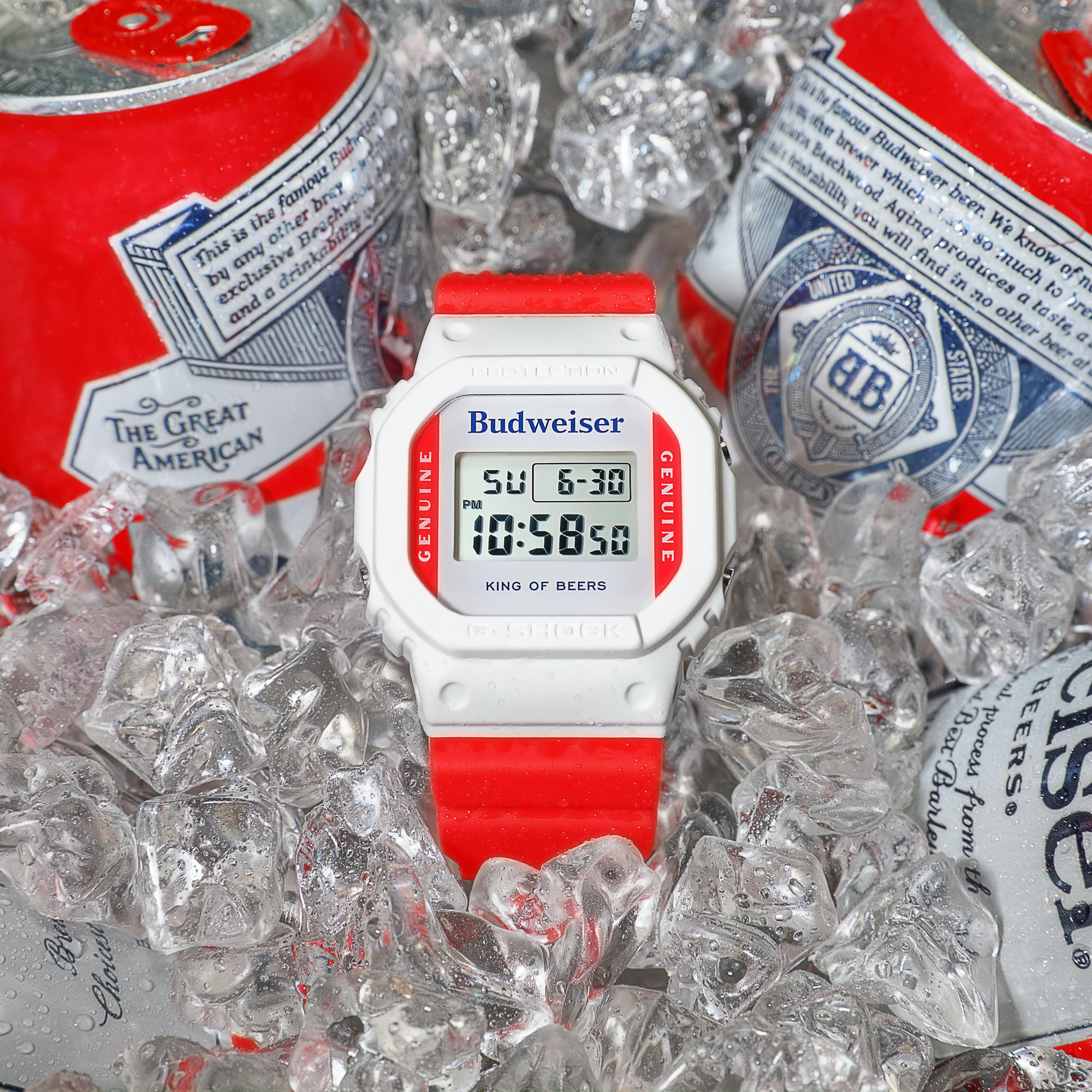 Just Because: G-SHOCK Cracks Open A Cold One With Budweiser