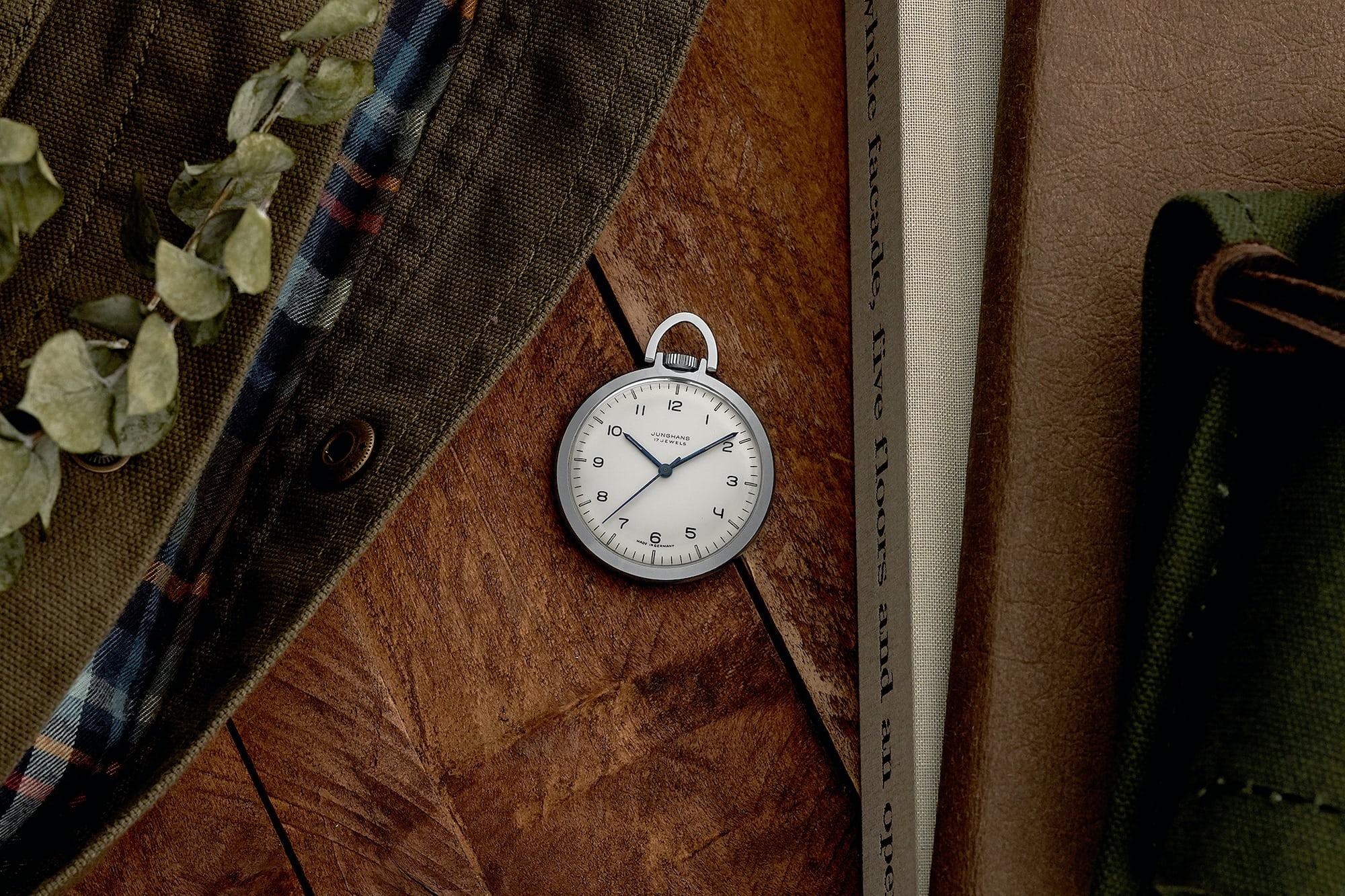 "<p><a href=""https://shop.hodinkee.com/products/2496-junghans-pocket-watch"" rel=""noopener"" target=""_blank""><u>1960s Junghans Pocket Watch</u></a></p>"