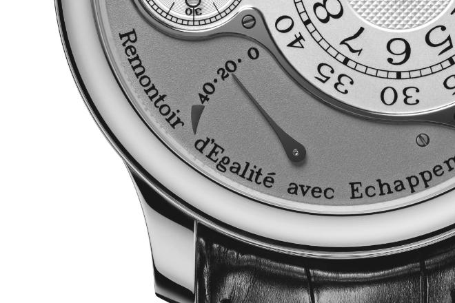 Watch 101 - Remontoir d'Egalite